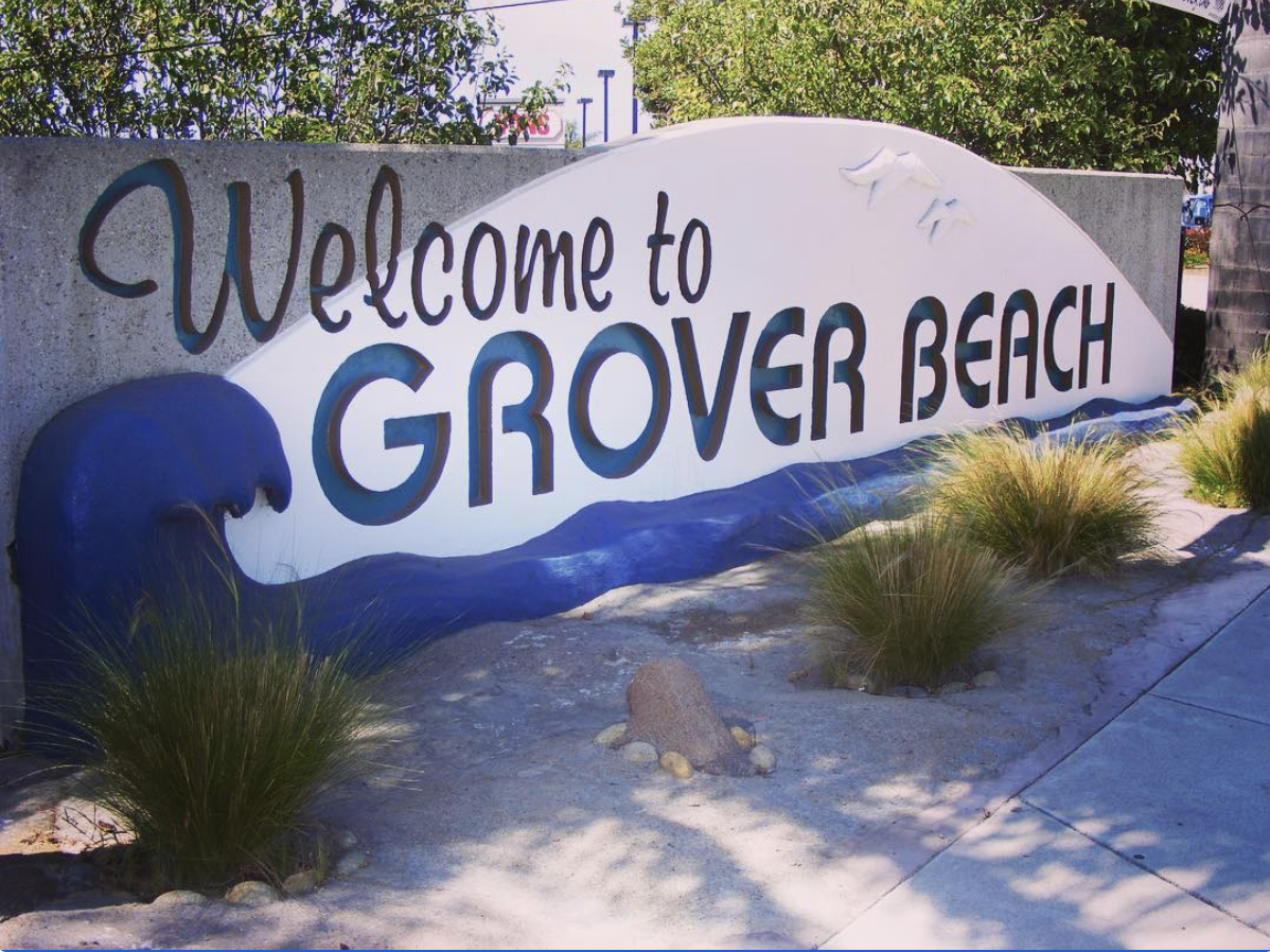 Grover Beach Sign