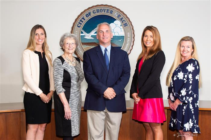 Grover Beach City Council, August 2019