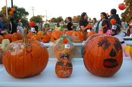 Grover Beach - Carved Pumpkin Contest Entries