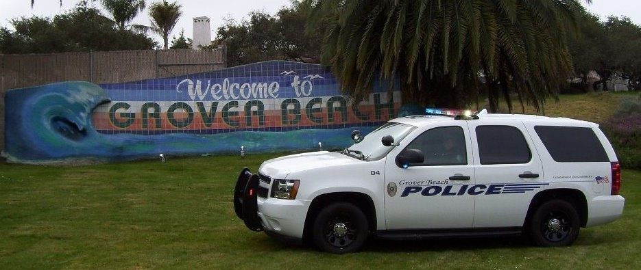 Grover Beach Police Department Vehicle