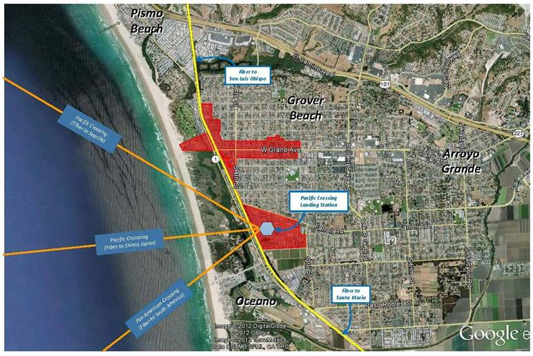 Grover Beach Virtual Port - Regional Connectivity